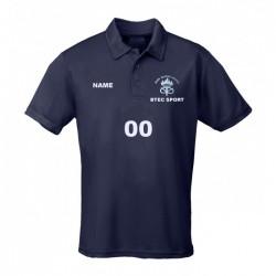 Barr Beacon GCSE PE Girls Polo Shirt